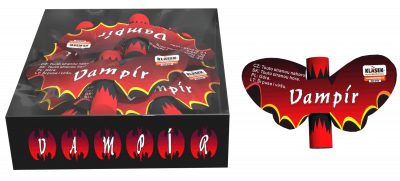 Vampír motýl 6ks/ balenie