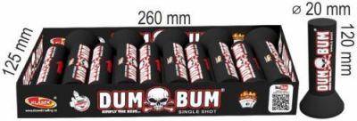 Pyrotechnika Kulové pumy Single Shots DUM BUM 20mm 10ks