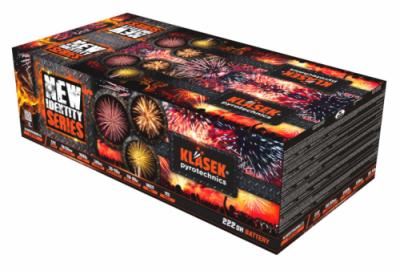 Kompaktný ohňostroj New identity series 222 rán / multikaliber