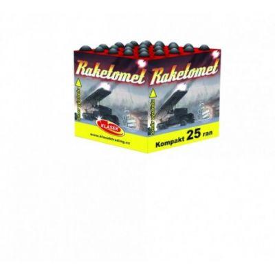 Raketomet 4x25 rán / ohňostroje