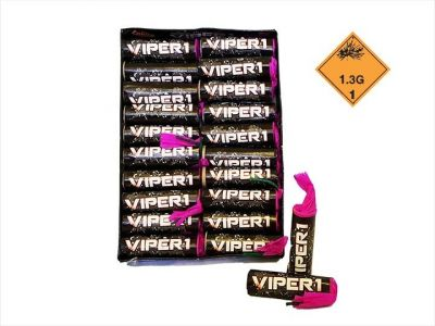 Petardy VIPER1 Black 20 ks