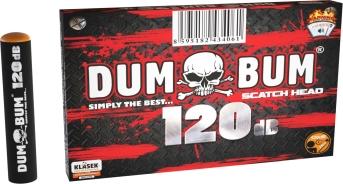 Pyrotechnika Petardy DUM BUM 120 ( scatch head )10ks - škrtacie
