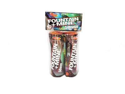 Fountain + Mine 50mm ( gulová puma )