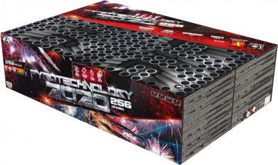 Kompaktný ohňostroj 256 ran / 30mm Pyrotechnology 2020