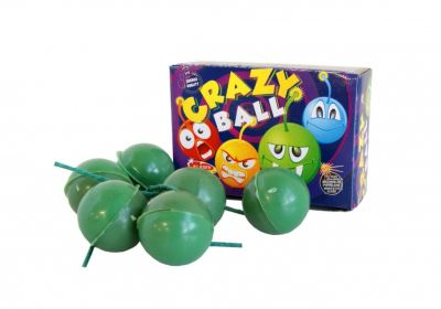Pyrotechnika Detská Crazy Ball 6ks