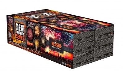 Kompaktný ohňostroj New identity series 200 ran / multikaliber