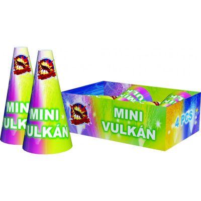 "Mini vulkán 4"" 4ks"