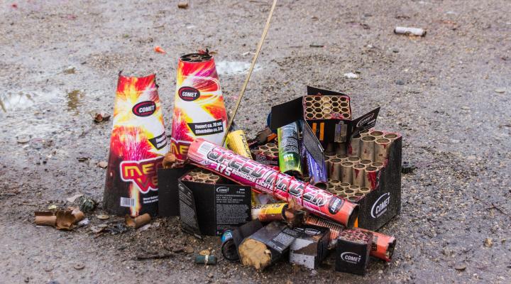 Skladovanie a likvidácia zábavnej pyrotechniky